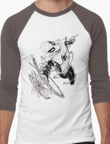 The Amazing Spider-Man art Men's Baseball ¾ T-Shirt