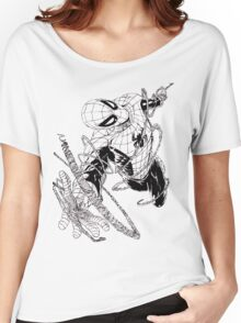 The Amazing Spider-Man art Women's Relaxed Fit T-Shirt