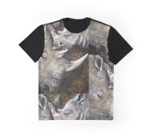 Rhino's — The Spiral of Life Graphic T-Shirt