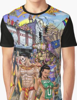 SheVibe Takes On Key West Fantasy Fest Graphic T-Shirt