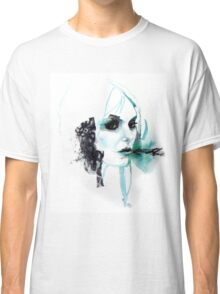 Watercolor Taylor Momsen fan art portrait Classic T-Shirt