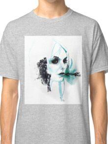 Watercolor Taylor Momsen fan art portrait Classic T-Shirt