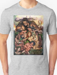 SheVibe Pan Orgy Cover Art - Safe Unisex T-Shirt