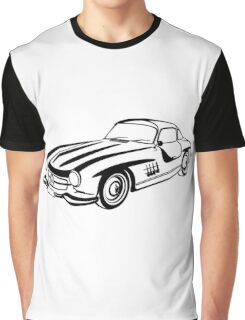 Mercedes 500 SL Gullwing Graphic T-Shirt
