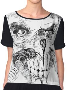 Mad Max Immortan Joe art Chiffon Top