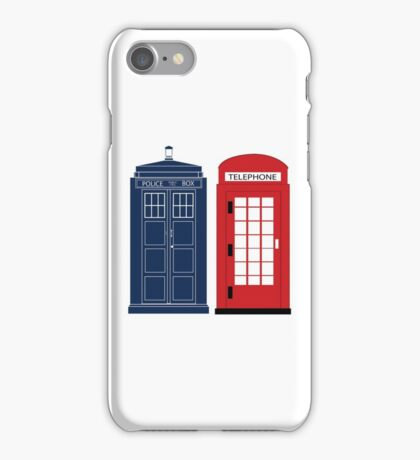 Dr. Who Phone Booth iPhone Case/Skin