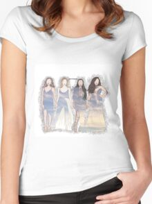 Brits-LM Women's Fitted Scoop T-Shirt