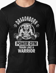Dragonborn Power Gym Long Sleeve T-Shirt