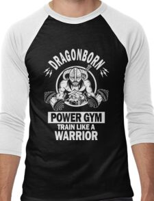 Dragonborn Power Gym Men's Baseball ¾ T-Shirt