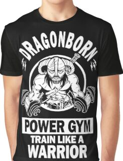 Dragonborn Power Gym Graphic T-Shirt