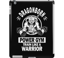 Dragonborn Power Gym iPad Case/Skin
