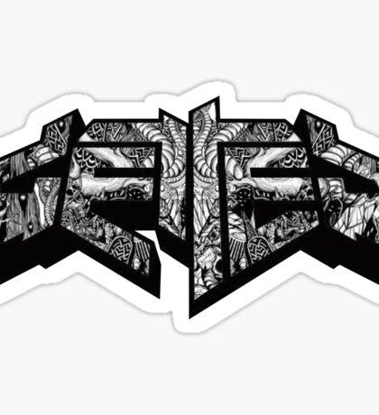 Getter Logo - Shambhala Sticker