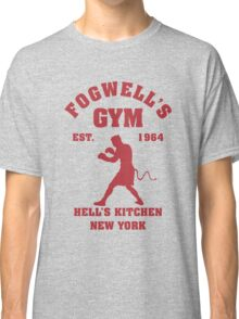 Fogwell's Gym Box the Devil Classic T-Shirt