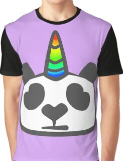 Pandacorn! Graphic T-Shirt