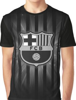 Barcelona Black Graphic T-Shirt