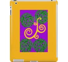 Belgium Scrolls iPad Case/Skin