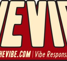 SheVibe Comic Logo Sticker