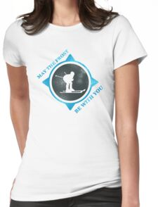 May The Frost be With You  Womens Fitted T-Shirt