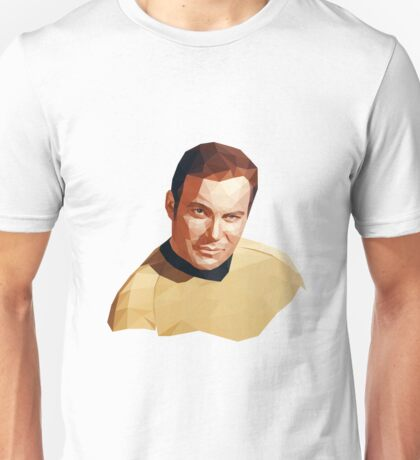 James T. Kirk Unisex T-Shirt