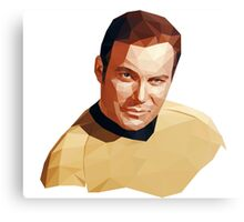 James T. Kirk Canvas Print