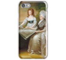 Edward Savage - The Washington Family 1789-1796 iPhone Case/Skin