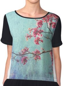 Hope for Spring -revisited Chiffon Top