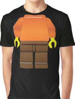 The brick guy minifigure - just add a head! Graphic T-Shirt
