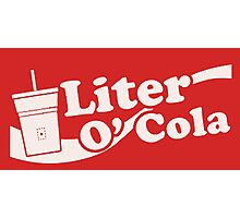 Liter o' Cola! Photographic Print