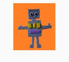 Robot on Orange  Unisex T-Shirt