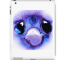 Sad eyed baby emu iPad Case/Skin