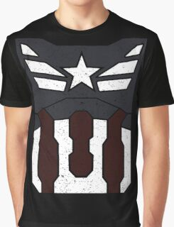 American Shield - Distressed Graphic T-Shirt