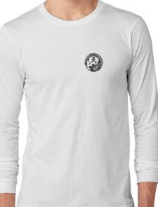 Black Dragon Crest Tee Long Sleeve T-Shirt