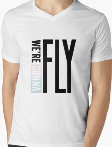 We' re gonna fly! Mens V-Neck T-Shirt