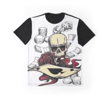 Skull Of Game Graphic T-Shirt