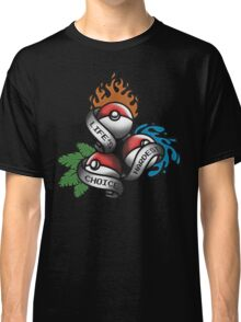 Life's Hardest Choice - Pokemon Classic T-Shirt