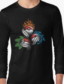 Life's Hardest Choice - Pokemon Long Sleeve T-Shirt