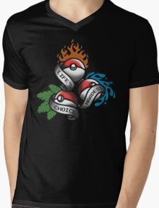 Life's Hardest Choice - Pokemon Mens V-Neck T-Shirt