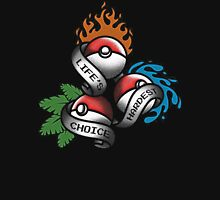 Life's Hardest Choice - Pokemon Unisex T-Shirt