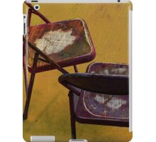Center Stage Digital painting by Alma Lee iPad Case/Skin