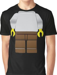 Gray toy minifigure - just add your head. Graphic T-Shirt