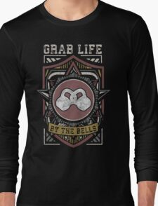 Grab Life By The Bells (Kettlebells) - Vintage Long Sleeve T-Shirt