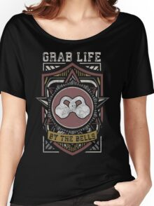 Grab Life By The Bells (Kettlebells) - Vintage Women's Relaxed Fit T-Shirt