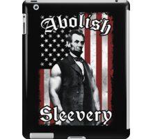 Abolish Sleevery (Vintage US Flag) iPad Case/Skin