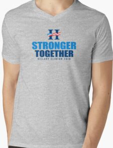 Stronger Together Mens V-Neck T-Shirt
