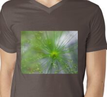 Spikelets of Flowers Mens V-Neck T-Shirt