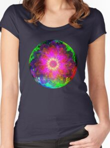 Flowers 0013 Women's Fitted Scoop T-Shirt