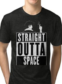 Cowboy Bebop - Straight outta Space Tri-blend T-Shirt