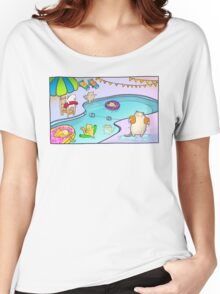 Kitty Pool Women's Relaxed Fit T-Shirt