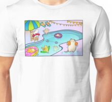 Kitty Pool Unisex T-Shirt