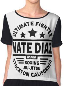 Nate Diaz Chiffon Top
